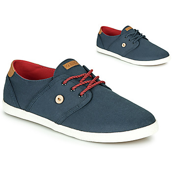Shoes Low top trainers Faguo CYPRESS Blue / Brown / Red