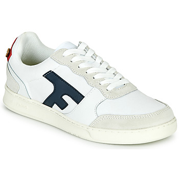Shoes Low top trainers Faguo HAZEL Beige / Marine / Red