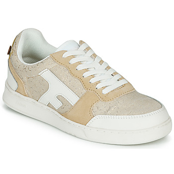 Shoes Women Low top trainers Faguo HAZEL Beige