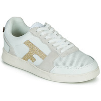 Shoes Women Low top trainers Faguo HAZEL White / Gold