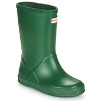 Shoes Children Wellington boots Hunter KIDS FIRST CLASSIC Green