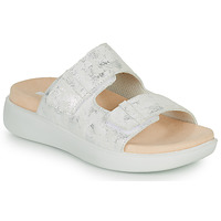 Shoes Women Mules Romika Westland BORNEO 02 Silver / White