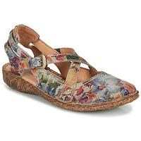 Shoes Women Sandals Josef Seibel ROSALIE 13 Grey / Multicolour