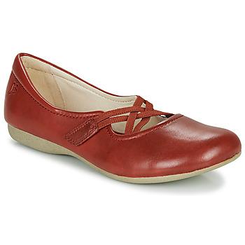 Shoes Women Ballerinas Josef Seibel FIONA 41 Red