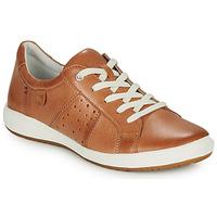 Shoes Women Low top trainers Josef Seibel CAREN 01 Camel