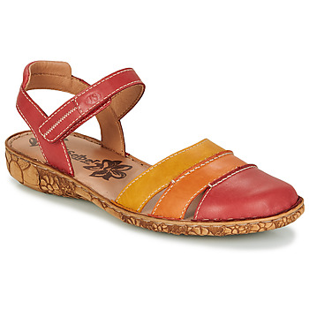 Shoes Women Sandals Josef Seibel roSALIE 44 Red / Orange