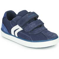 Shoes Boy Low top trainers Geox B KILWI BOY Blue