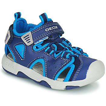 Shoes Boy Sports sandals Geox B SANDAL MULTY BOY Blue