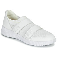Shoes Women Low top trainers Geox D NOVAE White