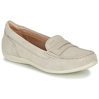 Shoes Women Loafers Geox D YUKI Beige