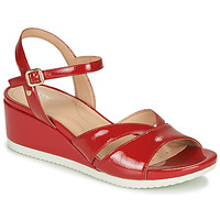 Shoes Women Sandals Geox D ISCHIA Red