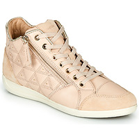 Shoes Women High top trainers Geox D MYRIA Beige