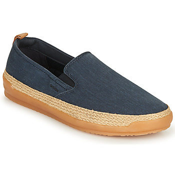 Shoes Men Slip ons Geox U MONDELLO Denim