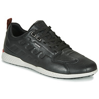 Shoes Men Low top trainers Geox U SNAKE.2 Black