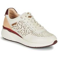 Shoes Women Low top trainers Pikolinos SELLA W6Z White / Bordeaux