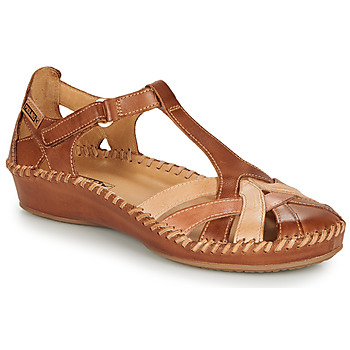 Shoes Women Sandals Pikolinos P. VALLARTA 655 Cognac / Camel