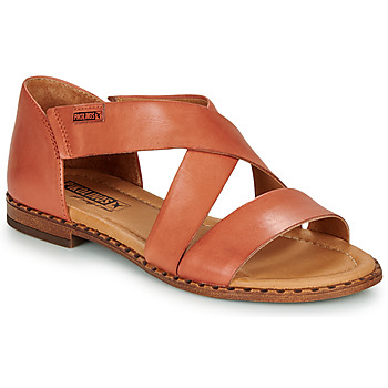 Shoes Women Sandals Pikolinos ALGAR W0X Ocre tan