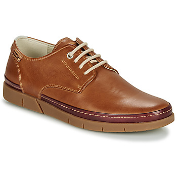 Shoes Men Derby shoes Pikolinos PALAMOS M0R Brandy