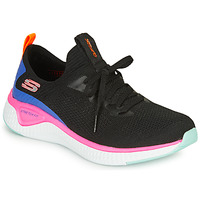 Shoes Women Fitness / Training Skechers SOLAR FUSE Black / Pink / Blue