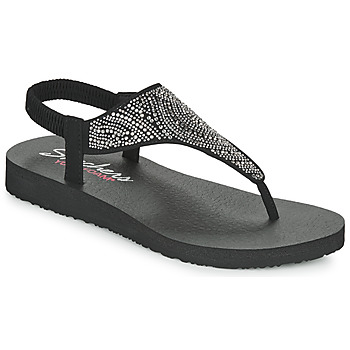 Shoes Women Sandals Skechers MEDITATION Black