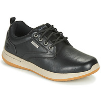 Shoes Men Low top trainers Skechers DELSON ANTIGO Black