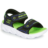 Shoes Boy Sports sandals Skechers HYPNO-SPLASH Blue / Green
