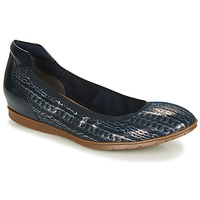 Shoes Women Ballerinas Tamaris  Marine / Silver