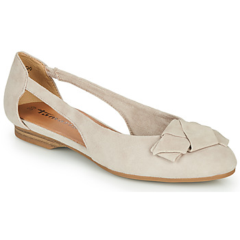 Shoes Women Ballerinas Tamaris  Beige