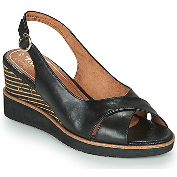 Shoes Women Sandals Tamaris ALIS Black