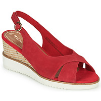 Shoes Women Sandals Tamaris  Red