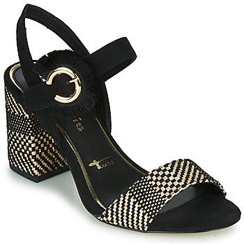 Shoes Women Sandals Tamaris CALLIE Black