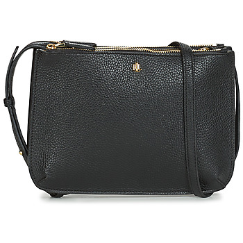 Bags Women Shoulder bags Lauren Ralph Lauren MERRIMACK CARTER CROSSBODY-MEDIUM Black