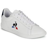 Shoes Children Low top trainers Le Coq Sportif COURTSET GS White