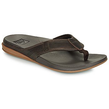 Shoes Men Flip flops Reef CUSHION BOUNCE LUX Brown
