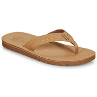 Shoes Men Flip flops Reef VOYAGE LE Camel