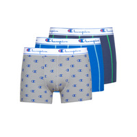 Underwear Men Boxer shorts Champion BO LEGACY PACK X3 Blue / Marine / Grey