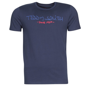 material Men short-sleeved t-shirts Teddy Smith TICLASS Marine