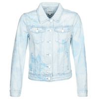 material Women Denim jackets Desigual WHAII Blue