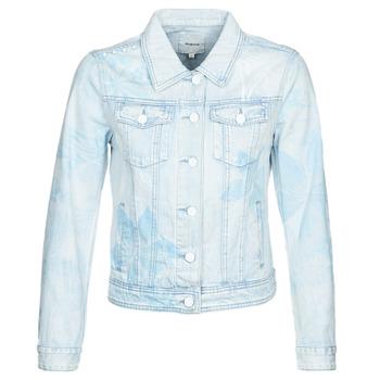 material Women Denim jackets Desigual WHAII Blue