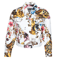material Women Denim jackets Desigual FANTASY Multicolour