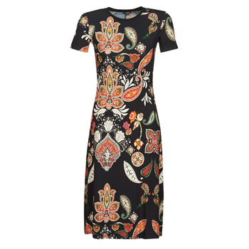 material Women Long Dresses Desigual MISURI Multicolour