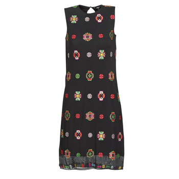 material Women Short Dresses Desigual TRESOR Multicolour