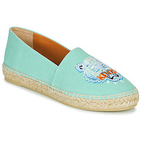 Shoes Women Espadrilles Kenzo ESPADRILLE CLASSIC TIGER Blue