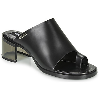 Shoes Women Mules Kenzo K ROUND MID HEELED Black