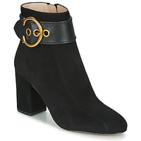 Shoes Women Mid boots Coach DARA BUCKLE BOOTIE Black