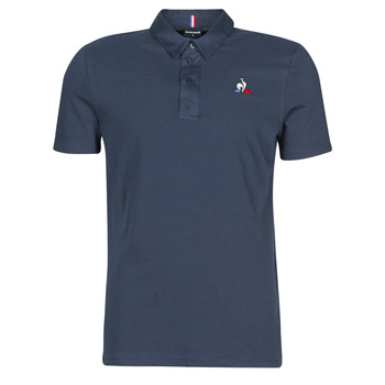 material Men short-sleeved polo shirts Le Coq Sportif ESS POLO SS N°2 M Blue