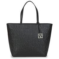 Bags Women Shoulder bags Armani Exchange MANO Black