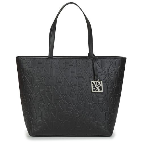 Bags Women Shopper bags Armani Exchange MANO Black