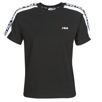 material Women short-sleeved t-shirts Fila TANDY Black