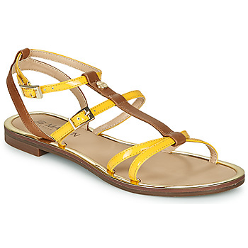 Shoes Women Sandals JB Martin 1GRIOTTES Yellow / Brown